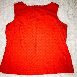 Orange 🧡Talbots Designed Top